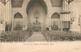 Viesville-Sarts : Intérieur De L'Eglise - Pont-à-Celles