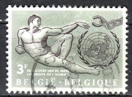 B+ Belgien 1962 Mi 1291 Menschenrechte GH - Belgien