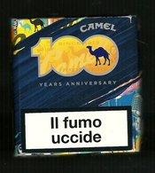 Tabacco Pacchetto Di Sigarette Italia - Camel 100 Anni Da 20 Pezzi - Empty Cigarettes Boxes
