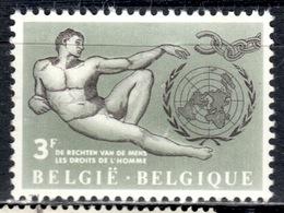 B+ Belgien 1962 Mi 1291 Mnh Menschenrechte GH - Belgien