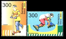 271 - Belarus - 2003 - Children Games - 2v - MNH - Lemberg-Zp - Bielorrusia