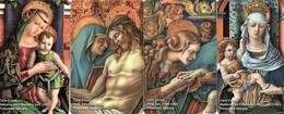 *VATICANO: 1^ Emissione 2020 - Numeri MBC 001/MBC 004* - Schede NUOVE (MINT) In Folder (EMISSIONE STRAORDINARIA) - Vaticano