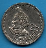 GUATEMALA 25 CENTAVOS 1997 - Guatemala