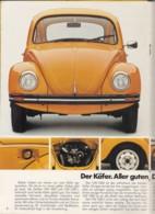 Original Prosekt VW Käfer, 1975, 18 Seiten DinA 4 Und Ein Einlegeblatt: Preisliste - KFZ