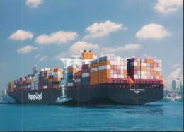 Containerschiff CMV OSAKA EXPRESS, Der Hapag Lloyd, Baujahr 2007 - Cargos