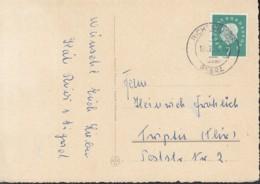 Landpoststempel: Richelsdorf über Bebra 19.12.1960 Auf AK: Weihnachten - BRD