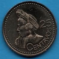 GUATEMALA 25 CENTAVOS 2000 - Guatemala