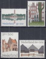 NIEDERLANDE 1048-1051, Postfrisch **, Europäisches Denkmalschutzjahr 1975 - Ungebraucht
