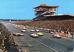 MOTOR RACING - AUTOMOBILISMO - 24 HEURES DU MANS - CIRCUITE DE LA SARTHE - ANNO 1967 - L'AVVIO DELLE VETTURE N 4/165 - Le Mans