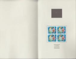 SCHWEIZ 1304-1307, 4erBlock, Gestempelt, In PTT-Präsentationsbroschüre (16 Seiten), Pro Juventute, Märchen 1985 - Pro Juventute