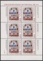 PORTUGAL  1539, Kleinbogen,postfrisch **, 500 Jahre Azulejos In Portugal, 1981 - Blocs-feuillets