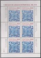 PORTUGAL  1582, Kleinbogen,postfrisch **, 500 Jahre Azulejos In Portugal, 1982 - Blocs-feuillets