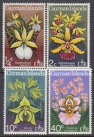 KAIMAN-INSELN 286-289, Postfrisch **, Orchideen, 1971 - Caimán (Islas)