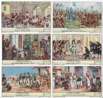 S1629 - Lot 6 Chromos LIEBIG - Histoire De France - Liebig