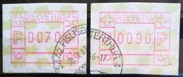 SUISSE                        Distributeur Série 2001                     OBLITERE - Francobolli Da Distributore