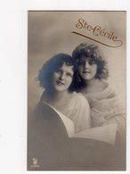 500 - FILLETTE Et Sa Maman  *Ste Cécile* - Portraits