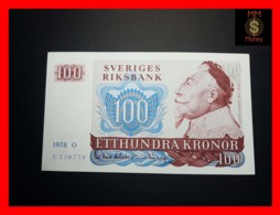 SWEDEN 100 Kronor 1978 P. 54 C  XF - Svezia