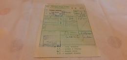 BIGLIETTO TRENO DA TERMINI IMERESE A ROMA TERMINI 1982 - Treni