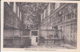 Città Del Vaticano - Cappella Sistina (XV Sec.) - Vatican