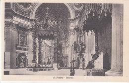 S. Pietro - Interno - Vaticano