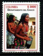 A349M-COLOMBIA- 2004 -MNH- CHOCO DEPARTMENT - INDIGENOUS WOMEN - Kolumbien
