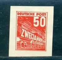 "1952 Locomotive,train,""ZWEIJAHRPLAN""/Two Year Plan,Essay/Proof,DDR,50 Pf/red,MNG - DDR"