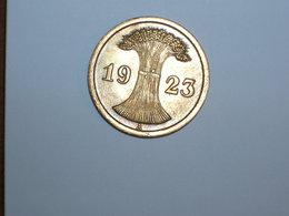 ALEMANIA 2 RENTENPFENNIG 1923 A (1093) - 2 Rentenpfennig & 2 Reichspfennig