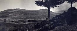 Catania - Etna - Sullo Sfondo Il Cratere - Formato Lungo Non Viaggiata - Bozza – E 16 - Catania