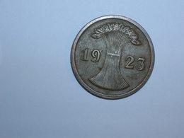 ALEMANIA 2 RENTENPFENNIG 1923 D (1094) - 2 Rentenpfennig & 2 Reichspfennig