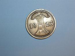 ALEMANIA 2 RENTENPFENNIG 1923 J (1097) - 2 Rentenpfennig & 2 Reichspfennig