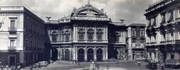Catania - Teatro Vincenzo Bellini - Formato Lungo Non  Viaggiata - Bozza – E 16 - Catania