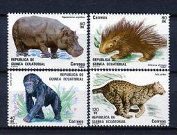 Guinea Ecuatorial 1983. Edifil 39-42 ** MNH. - Äquatorial-Guinea