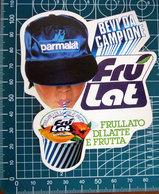 PARMALAT FRU LAT VINTAGE STICKER ADESIVO NEW ORIGINAL - Stickers