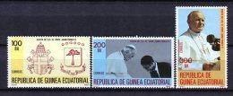 Guinea Ecuatorial 1982. Edifil 32-34 ** MNH. - Äquatorial-Guinea