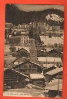 ZAJ-33 Leysin, Les Hotels  Jullien 9870  Circulé 1914 - VD Vaud