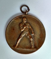 1930's Original Originele Medal  Médaille Boxing Sport Boksen Bokssport Antwerp Antwerpen Belgium - Abbigliamento, Souvenirs & Varie