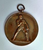 1930's Original Originele Medal  Médaille Boxing Sport Boksen Bokssport Antwerp Antwerpen Belgium - Kleding, Souvenirs & Andere