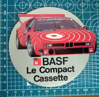 BASF BMW VINTAGE STICKER ADESIVO NEW ORIGINAL - Stickers