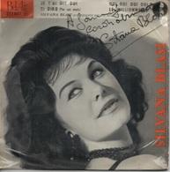 45T. SILVANA BLASI. Je T'ai Dit Oui, Ti Diro, Oui Oui Oui Oui, Le Millionnaire. DEDICACE Pochette Signée Vrai Autographe - Other - French Music