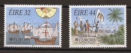 Europa CEPT 1992 Irlande - Ireland - Irland Y&T N°795 à 796 - Michel N°792 à 793 *** - Europa-CEPT