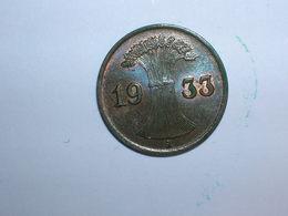 ALEMANIA 1 REICHPFENNIG 1933 A (1143) - [ 4] 1933-1945 : Tercer Reich