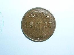 ALEMANIA 1 REICHPFENNIG 1933 E (1144) - [ 4] 1933-1945 : Third Reich