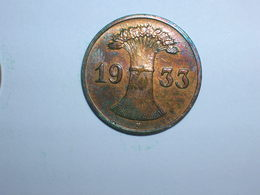 ALEMANIA 1 REICHPFENNIG 1933 F (1145) - [ 4] 1933-1945 : Tercer Reich