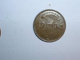 ALEMANIA 1 REICHPFENNIG 1934 G (1150) - [ 4] 1933-1945 : Third Reich