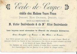 Dinant: Ecole De Coupe - Vieux Papiers