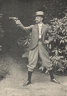 Monsieur CAURETTE  Roi Du Tir Au Revolver 1901 - Sports