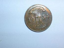 ALEMANIA 1 REICHPFENNIG 1934 J (1151) - [ 4] 1933-1945 : Third Reich