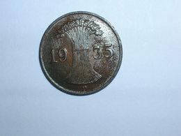 ALEMANIA 1 REICHPFENNIG 1935 D (1153) - [ 4] 1933-1945 : Tercer Reich