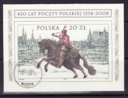 POLAND 2008 MICHEL NO: BL.182 USED - Gebraucht