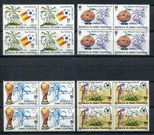 Guinea Ecuatorial 1982. Edifil 35-38 X 4 ** MNH. - Äquatorial-Guinea